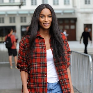 Ciara at BBC Radio 1