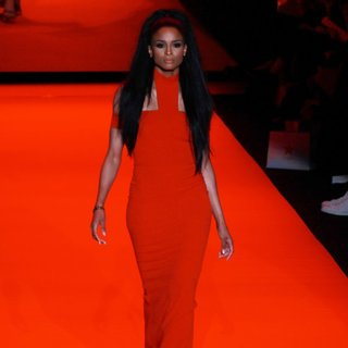Mercedes-Benz Fashion Week Fall 2015 - Go Red for Women Red Dress Collection - Runway