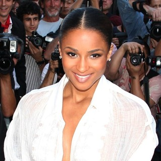 Ciara in Fashion Week Spring-Summer 2012 Ready to Wear - Jean Paul Gaultier - Arrivals