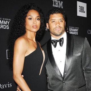 Ciara, Russell Wilson in Clive Davis Pre-Grammy Gala 2019