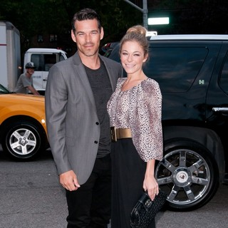 LeAnn Rimes - Mercedes Benz New York Fashion Week - Day 3