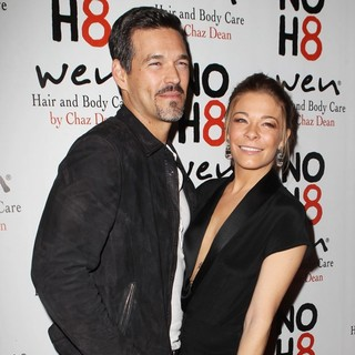 Eddie Cibrian, LeAnn Rimes in NOH8 Celebrity Studded 4th Anniversary Party - Arrivals