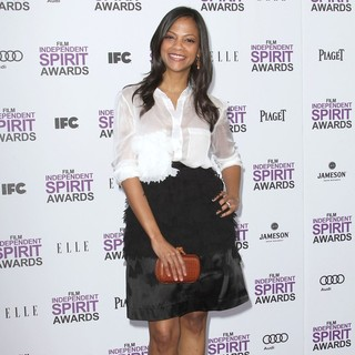 Cicely Saldana in 27th Annual Independent Spirit Awards - Arrivals