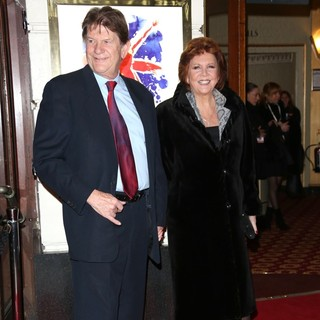 Cilla Black in VIVA Forever Spice Girls The Musical - Arrivals