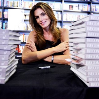 Cindy Crawford Signs Copies of Her Book Becoming