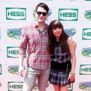 Owl City, Carly Rae Jepsen in Arthur Ashe Kids Day 2012