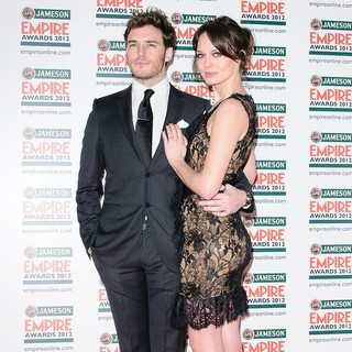 Sam Claflin, Laura Haddock in The Empire Film Awards 2012 - Arrivals