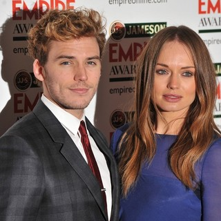 Sam Claflin, Laura Haddock in Jameson Empire Film Awards 2013 - Arrivals