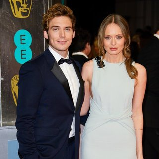 Sam Claflin, Laura Haddock in EE British Academy Film Awards 2014 - Arrivals