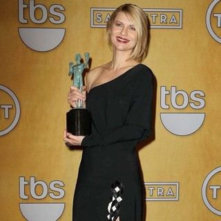 Claire Danes in 19th Annual Screen Actors Guild Awards - Press Room