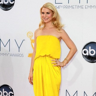 Claire Danes in 64th Annual Primetime Emmy Awards - Arrivals
