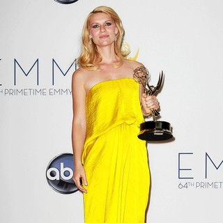 Claire Danes in 64th Annual Primetime Emmy Awards - Press Room