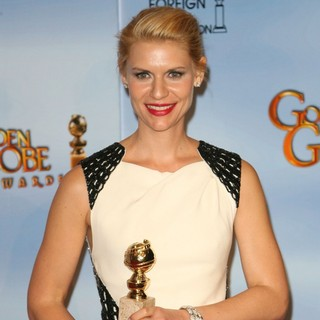 Claire Danes in The 69th Annual Golden Globe Awards - Press Room