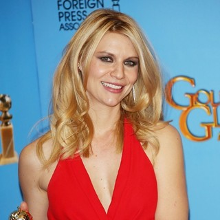 Claire Danes in 70th Annual Golden Globe Awards - Press Room