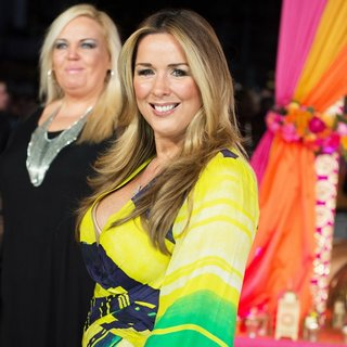 Claire Sweeney in UK Premiere The Second Best Exotic Marigold Hotel - Arrivals