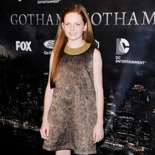 Clare Foley in Gotham Series Premiere Event - Red Carpet Arrivals