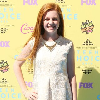 Clare Foley in Teen Choice Awards 2015 - Arrivals