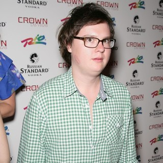 Clark Duke in Celebrities Hit The Red Carpet for The Official Opening Weekend of Crown Theater and Nightclub