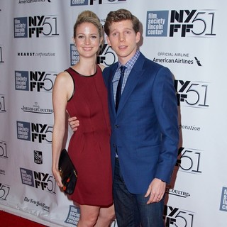 Gemma Clarke, Stark Sands in The 51st New York Film Festival - Inside Llewyn Davis Premiere - Arrivals