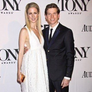 Gemma Clarke, Stark Sands in The 67th Annual Tony Awards - Arrivals