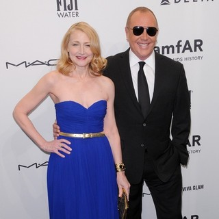 Patricia Clarkson, Michael Kors in The amfAR Gala 2013