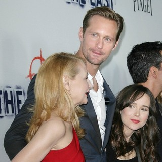Patricia Clarkson, Alexander Skarsgard, Ellen Page in Los Angeles Premiere of The East