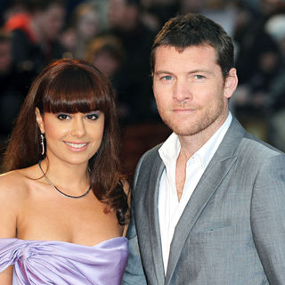 Natalie Mark, Sam Worthington in 'Clash of the Titans' UK Film Premiere - Arrivals
