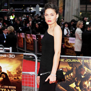 Alexa Davalos in 'Clash of the Titans' UK Film Premiere - Arrivals