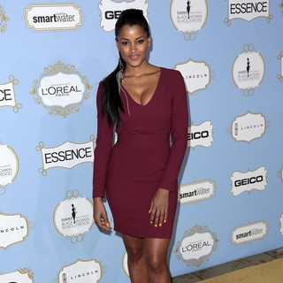 Claudia Jordan in 6th Annual Essence Black Women in Hollywood Luncheon