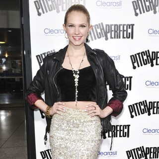 Claudia Lee in Los Angeles Premiere of Pitch Perfect