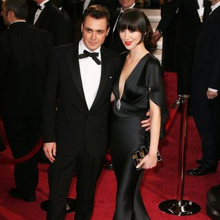 Barnaby Clay, Karen O in The 86th Annual Oscars - Red Carpet Arrivals