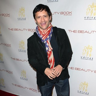 Clifton Collins Jr. in The Beauty Book for Brain Cancer Edition Two Launch Party
