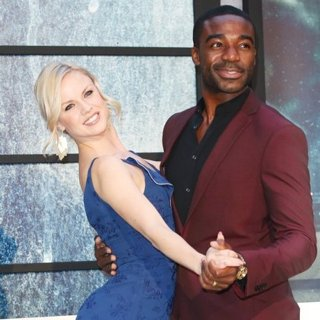 Joanne Clifton, Ore Oduba-The World Premiere of The Girl on the Train - Arrivals