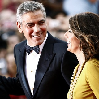 George Clooney, Marisa Tomei in 68th Venice Film Festival - Day 1 - The Ides of March - Red Carpet