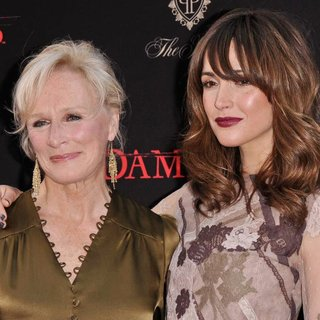 Glenn Close, Rose Byrne in Damages Season 4 Premiere - Arrivals