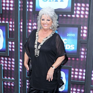 Paula Deen in 2010 CMT Music Awards Blue Carpet Arrivals