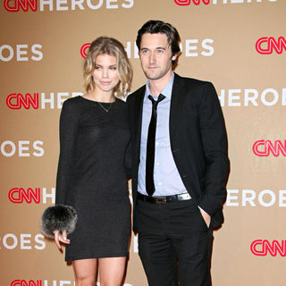 AnnaLynne McCord, Ryan Eggold in 2010 CNN Heroes: An All-Star Tribute - Arrivals