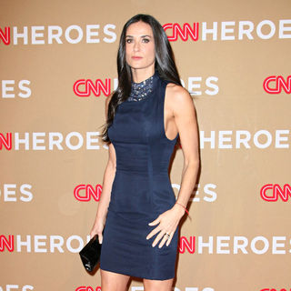 Demi Moore in 2010 CNN Heroes: An All-Star Tribute - Arrivals