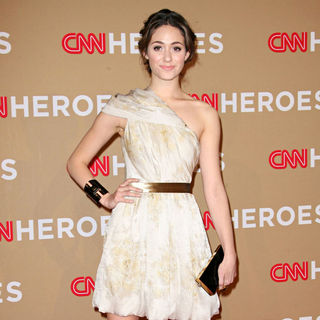 Emmy Rossum in 2010 CNN Heroes: An All-Star Tribute - Arrivals