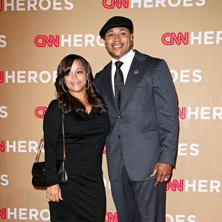 Simone I. Smith, LL Cool J in 2010 CNN Heroes: An All-Star Tribute - Arrivals