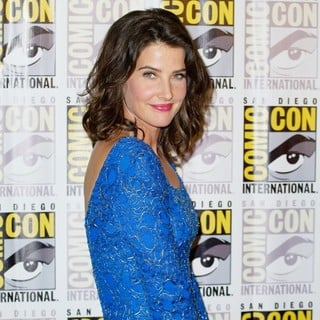 Cobie Smulders in Comic-Con International 2013 - Marvel - Photocall