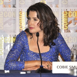 Cobie Smulders in Comic-Con International 2013 - Captain America: The Winter Soldier - Press Conference