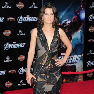 Cobie Smulders in World Premiere of The Avengers - Arrivals - cobie-smulders-premiere-the-avengers-01