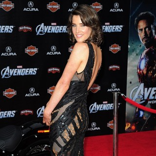 Cobie Smulders in World Premiere of The Avengers - Arrivals