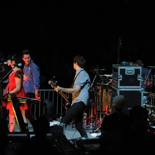 Cobra Starship in The Y100 Jingle Ball 2011