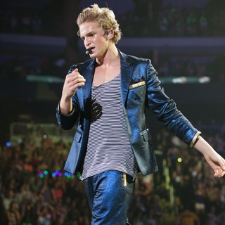 Cody Simpson in Cody Simpson Supports Justin Bieber on His Believe Tour