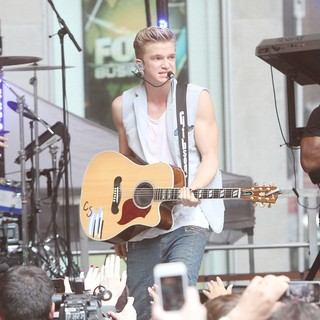 Cody Simpson in Cody Simpson Performs as Part of Fox and Friends All American Summer Concert Series