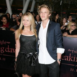 Cody Simpson in The Twilight Saga's Breaking Dawn Part I World Premiere