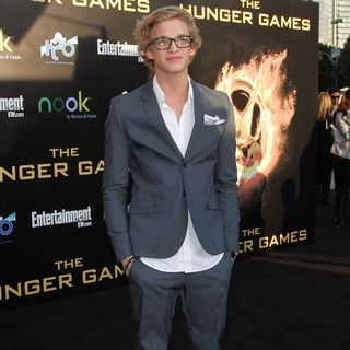 Cody Simpson in Los Angeles Premiere of The Hunger Games - Arrivals