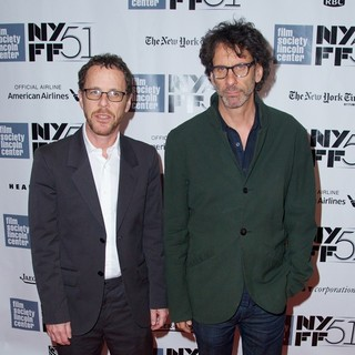 Ethan Coen, Joel Coen in The 51st New York Film Festival - Inside Llewyn Davis Premiere - Arrivals